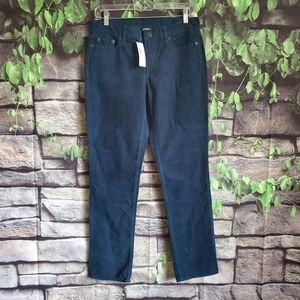 J Crew Blue Corduroy City Fit Pants Size 27S